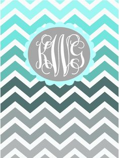 FREE DIY Monogram Binder Covers- Just made this, super easy and ...