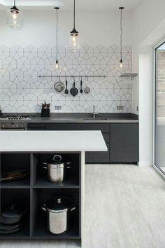 Kitchen Tools, Kitchen Ideas, Space Kitchen, Menu0027s Watches, Breitling  Watches, Hexagon Tiles, Designer Watches, Dream Kitchens, Living Spaces