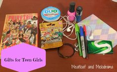 Meatloaf and Melodrama: Gifts for Teen Girls, or Why Gift Cards Rock