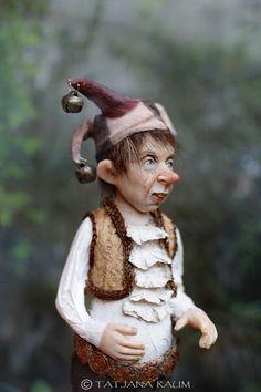 OOAK miniature artdoll 112th by Tatjana Raum dollhouse by chopoli, $590.00