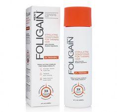 Foligain Hair Regrowth Conditioner For Men with Trioxidil Conditioner For Men, Shampoo For Thinning Hair, Healthy Scalp, Hair Thickening, Hair Loss Remedies, Moisturize Hair, Hair Regrowth, How To Make Hair, Hair Health