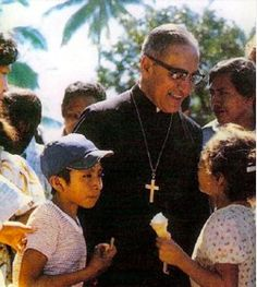 """""""The church must suffer for speaking the truth...for uprooting sin. No one wants to have a sore spot touched, and therefore a society with so many sores twitches when someone says: 'You have to treat that. You have to get rid of that. Believe in Christ. Be converted.'"""" Oscar A. Romero"""