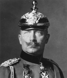 Kaiser Wilhelm II, former leader of Germany