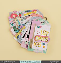 Tag mini album made using the September 2017 Hip Kit Club kits Adorable project life tag album Birthday Cards For Boys, Handmade Birthday Cards, Handmade Cards, Mini Scrapbook Albums, Scrapbook Paper Crafts, Scrapbooking, Scrapbook Layouts, Diy Crafts For Girls, Hip Kit Club