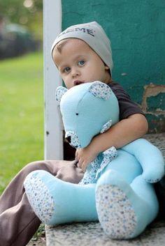Teddy Bear...  Marcela Klossova - Bellet Design (medvídek pro vnoučka)