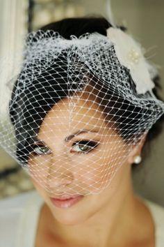Classic Vintage Inspired Birdcage Veil