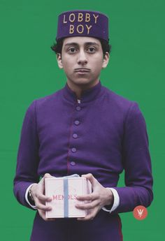 | THE ZUBROWKA FILM COMMISSION | Newcomer Toni Revolori plays the lobby boy, Zero, in The Grand Budapest Hotel!