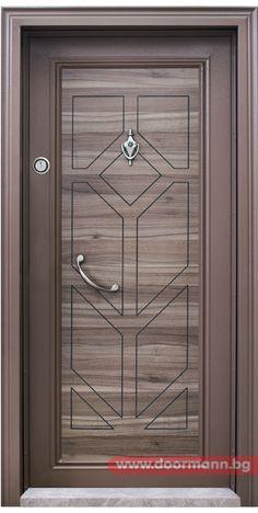Блиндирана входна врата - Код T686, Цвят Спарта