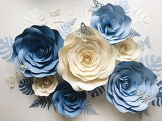 7 отметок «Нравится», 3 комментариев — Бумажный декор (@an_vinokur) в Instagram: «Давно здесь не было бумажных цветов. Теперь это один из моих любимых сетов Хотя, всякий раз я…»