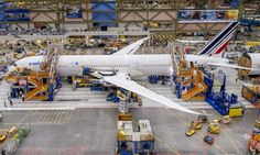 Photos : Boeing dévoile les images du 1er 787 d'Air France - Le Journal de l'Aviation