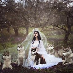 White Wolf: Fairytales Come To Life In Magical Photos by Photographer Margarita Kareva (PHOTOS)