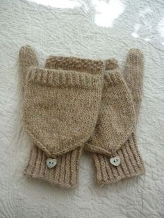 mittens (free pattern) Would like to knit these in a stranded pattern.