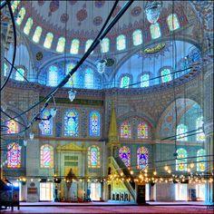 Interior de la Mezquita Azul - Serie   Flickr - Photo Sharing!