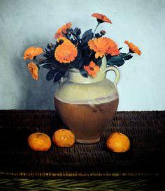 Felix Vallotton - Marigolds and Tangerines