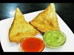 How To Make Aloo/Potato Samosa - Easy Crispy Crunchy Samosa Recipe by madhurasrecipe Indian Food Recipes, Ethnic Recipes, Easy, Samosas, Potatoes, Chicken, Events, Samosa Recipe