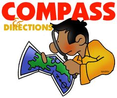 Free Powerpoints to teach students compass, directions and basic map skills