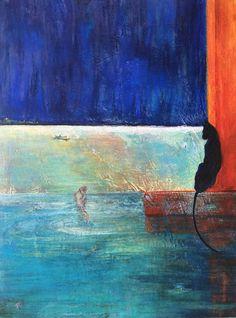 Black Cat Blue - Erika Arett