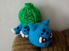 Horgolt Bulbasaur II. (Crocheted Bulbasaur) #crochet #amigurumi #baby #bulbasaur #cute #pokemon