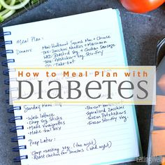 How to Tips to Start a Diabetes Meal Plan How to Meal Plan for Diabetes, meal plan shopping list with groceries surrounding Beat Diabetes, Gestational Diabetes, Diabetes Mellitus, Can You Reverse Diabetes, Types Of Diabetes, Prevent Diabetes, Diabetic Meal Plan, Tips, Diet