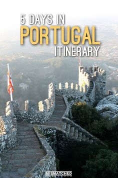 5 Days in Portugal: Lisbon, Sintra and Porto | Are you planning a trip to Portugal? Check out how our 5 Days in Portugal Itinerary which includes Lisbon, Sintra and Porto.