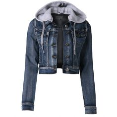 LE3NO Womens Premium Vintage Denim Jacket ($25) ❤ liked on Polyvore featuring outerwear, jackets, tops, coats, casacos, vintage jacket, vintage denim jacket, jean jacket, vintage jean jacket and blue jackets