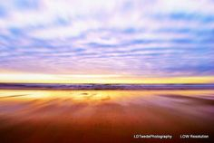 Sunset Photograph Reflection Photo Water by LDTwedePhotography