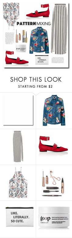 Pattern Mixing by spencer-hastings-5 on Polyvore featuring мода, Yves Saint Laurent, Balenciaga, Opening Ceremony and patternmixing