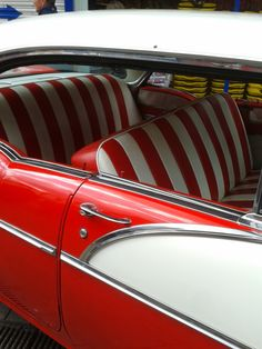 Love this car interior - Took at a car show in my town on Father's day