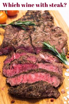 Wine and food pairings: Find out which wines go best with steak with the help of your digital wine sommelier, Sommelier. Wine Night, Food Combining, Dinner Menu, Dinner Recipes, Wine Parties, Foodblogger, Wine Drinks, Wine Tasting, The Help
