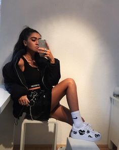i love clothes Trendy Outfits, Summer Outfits, Fashion Outfits, Womens Fashion, Swag Fashion, Nike Outfits, Fashion Ideas, Winter Outfits, Image Swag