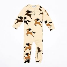 Mini Rodini horse jumpsuit. Available to buy at http://www.fromlolawithlove.com.au