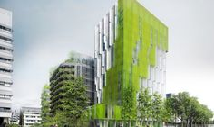 Reinventer Paris competition named XTU Architects' In Vivo, a trio of green eco-conscious buildings winner of the Paris Rive Gauche site M5A2.