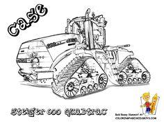 ausmalbilder traktor claas | tracks