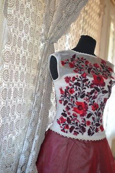 ÖRÖKsÉG.hu Hungarian Embroidery, Chain Stitch, Indian Dresses, Embroidery Patterns, Braids, Formal Dresses, Sanjeev Kumar, Women, Weddings