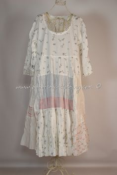 Dress SUSHI from Nadir Positano SS 2015 shabby chic, boho chic, lagenlook, mori…