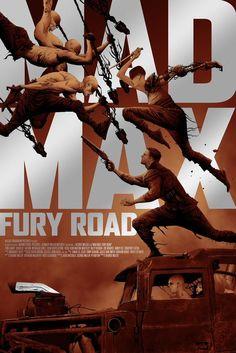 Mad Max Fury Road - movie poster •Jae Lee