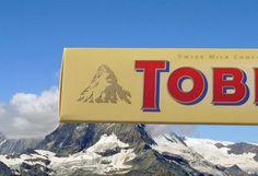 Toblerone devant le mont Cervin
