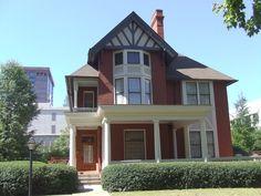 The Margaret Mitchell house/museum on Peachtree, Atlanta, Georgia
