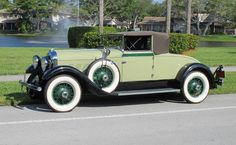 1930 Auburn 125 Cabriolet