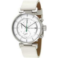 Issey Miyake W White Chronograph Watch | White Leather