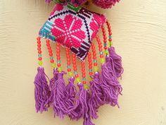BOHO Chic bolso Swag color gitana Tribal estilo bolso encanto