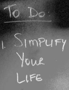 I work with my clients under 3 rules: 1. Simplify - Reduce your life's fractions. 2. Stamina - Use methods that will endure. 3. Smart - Educate yourself on what your are doing.