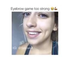 HAHAHHAHAH GOALS PLS Funny Picture Quotes, Funny Pictures, Funny Quotes, Funny Pics, Eyebrow Game, Get Up, Eyebrows, Hilarious, Lol