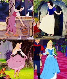 peasant clothes and princess dresses
