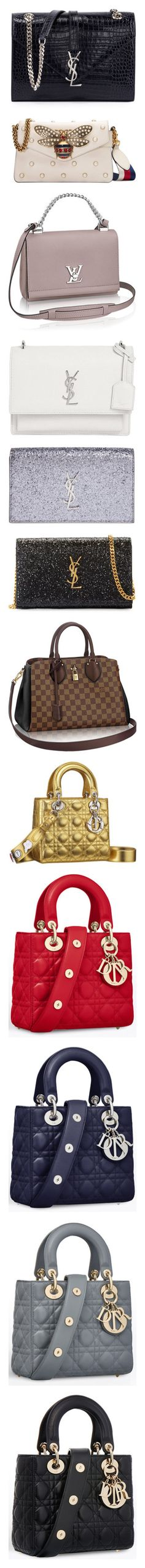 """Bag/Suitcase/Messenger Bag/Clutch ...3"" by rocket-queen-baby ❤ liked on Polyvore featuring bags, handbags, shoulder bags, navy, red shoulder bag, shoulder handbags, flap shoulder bag, yves saint laurent handbags, chain strap purse and clutches"
