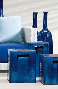 INOUT 41 - To purchase these items contact RADform at +1 (416) 955-8282 or info@radform.com #Radform #modernfurniture #contemporarydesign #interiordesign #blueaccents #coloufuldecor