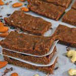 Save yourself some cash and a trip to the store with these homemade Copycat Chocolate Coffee RX Bars. This paleo, no-bake protein bar is the perfect way to refuel after a tough workout.