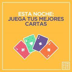 ¡Y que no te falten nunca! Siempre a mano... ¡Siempre con ganas!  #confortex #condones #condoms #felicidad #feliz #happy #life #vida #diversion #amor #querer #amar #amantes #play #pocker #mus #player #juego #cartas #polvo #sonrisa #smile