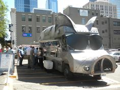 Maximus minimus, Seattle food truck. Love their pulled pork and slaw.