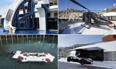 Most extravagant toys and gadgets at the Monaco Yacht Show Brought to you by http://www.wysluxury.com/ for Private jet charter, Exotic Car Rental, Luxury Real Estate, fishing Boat or Yacht to celebrate a special event service near you.